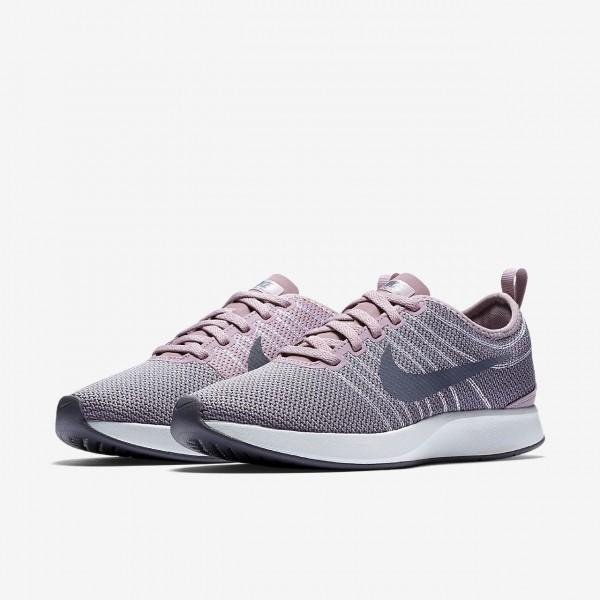 Nike Dualtone Racer Freizeitschuhe Damen Rosa Hellgrau Hellgrau 384-34536