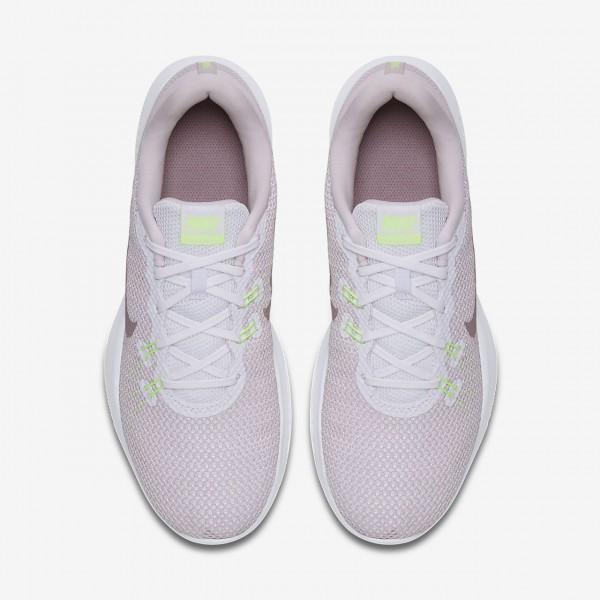 Nike Flex Trainer 7 Trainingsschuhe Damen Weiß Rosa Grün 251-50026