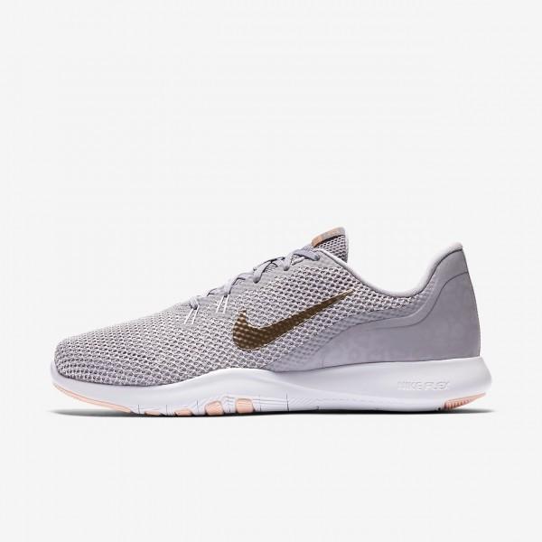 Nike Flex Tr 7 Print Trainingsschuhe Damen Grau Ro...