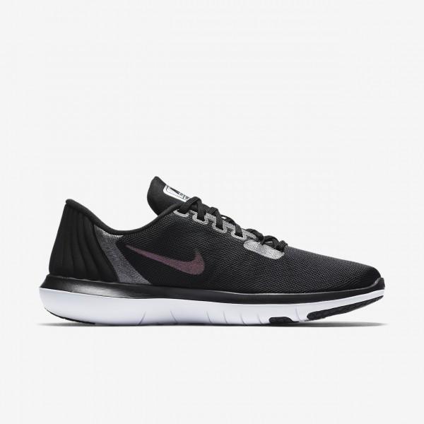 Nike Flex Supreme Tr 5 Metallic Trainingsschuhe Damen Schwarz Dunkelgrau 509-28831