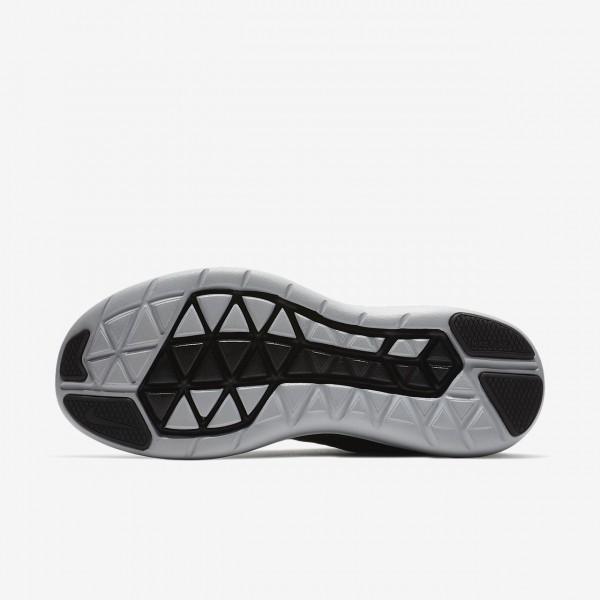 Nike Flex 2017 Rn Laufschuhe Damen Schwarz Rot Grau Fuchsie 389-22058