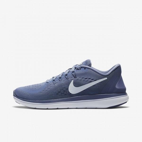 Nike Flex 2017 Rn Laufschuhe Damen Lila Blau Weiß...