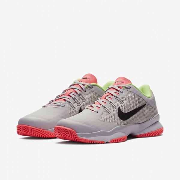 Nike Court Air Zoom Ultra Hard Court Tennisschuhe Damen Grau Weiß Grün Schwarz 365-56614