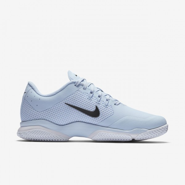 Nike Court Air Zoom Ultra Hard Court Tennisschuhe Damen Blau Weiß Metallic Dunkelgrau 992-21909