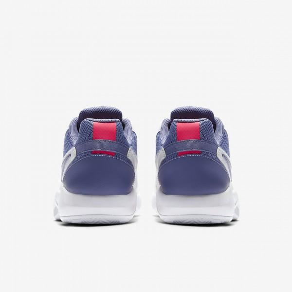 Nike Court Air Zoom Resistance Tennisschuhe Damen Weiß Pink Lila 502-95939