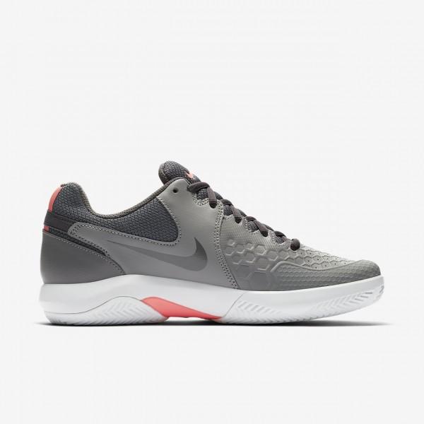 Nike Court Air Zoom Resistance Tennisschuhe Damen Rosa Weiß 729-84281