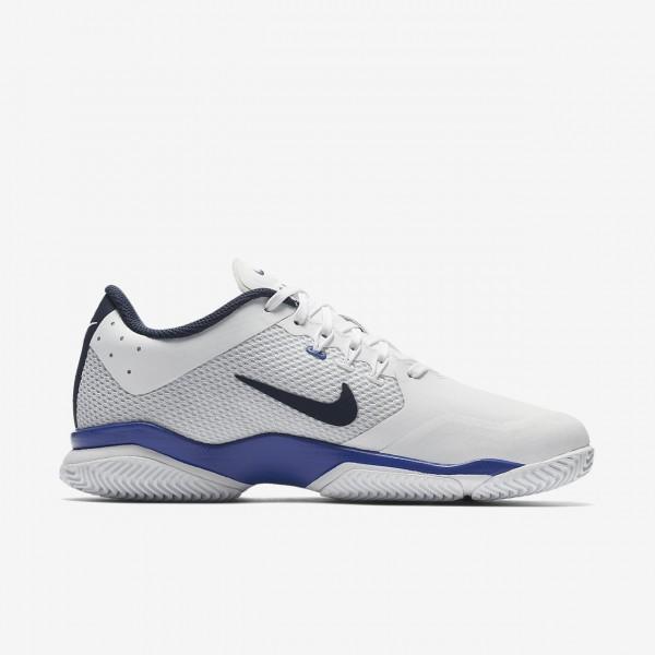 Nike Court Air Zoom Ultra Hard Court Tennisschuhe Damen Weiß Blau 414-82534