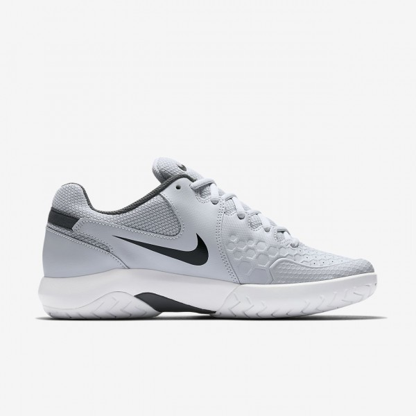 Nike Court Air Zoom Ultra Hard Court Tennisschuhe Damen Weiß Blau 414-82534