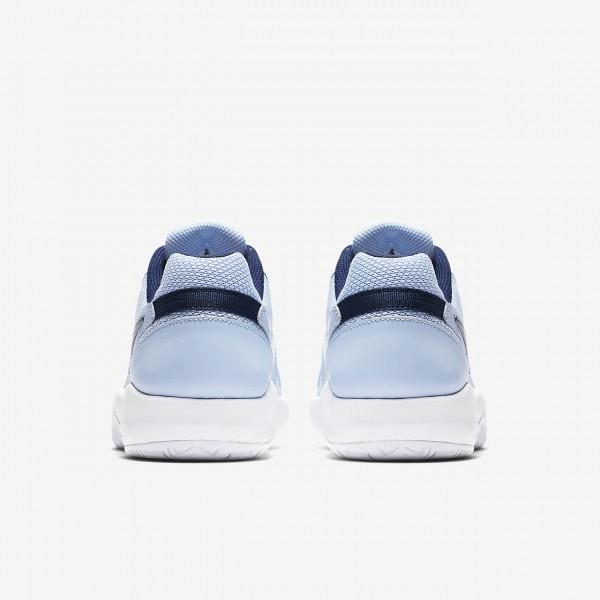 Nike Court Air Zoom Resistance Tennisschuhe Damen Blau Weiß Metallic Dunkelgrau 471-28878