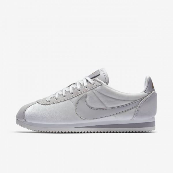 Nike Cortez Se Freizeitschuhe Damen Grau Metallic ...