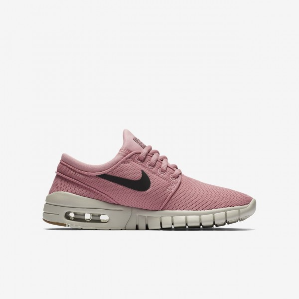 Nike Sb Stefan Janoski Max Skaterschuhe Jungen Pink Braun Weiß Schwarz 765-49037