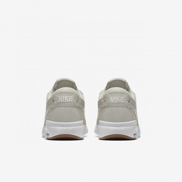 Nike Sb Air Max Bruin Vapor Skaterschuhe Jungen Weiß Braun 213-28968