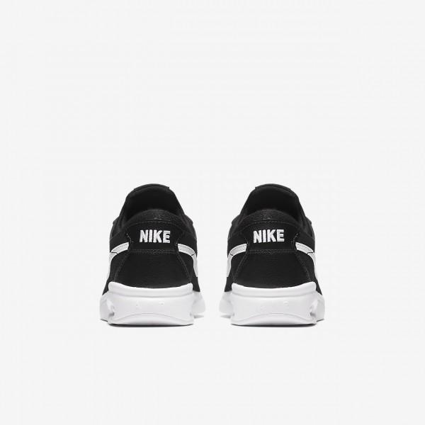 Nike Sb Air Max Bruin Vapor Skaterschuhe Jungen Schwarz Weiß 824-65909