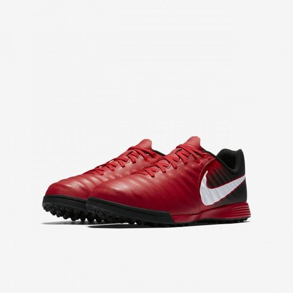 Nike Jr. Tiempox Ligera Iv Tf Fußballschuhe Jungen Schwarz Rot Weiß 133-12542