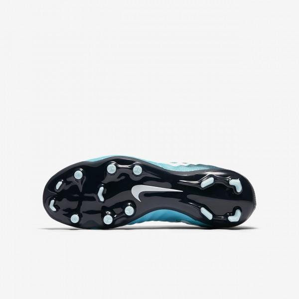 Nike Jr. Tiempo Legend Vii Fg Fußballschuhe Jungen Blau Obsidian Weiß 529-70226