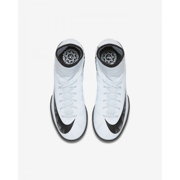 Nike Jr. Mercurialx Victory VI Dynamic Fit Cr7 Fußballschuhe Jungen Blau Weiß Schwarz 989-21026