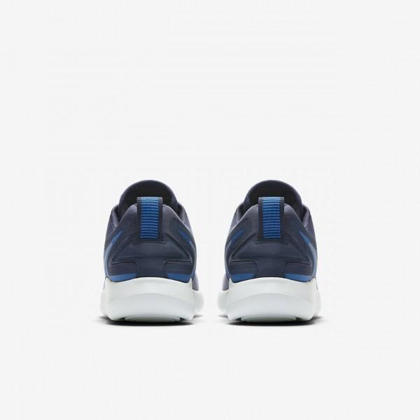 Nike Lunarsolo Laufschuhe Jungen Obsidian Tiefes Königsblau Blau Rot Metallic Silber 192-32429