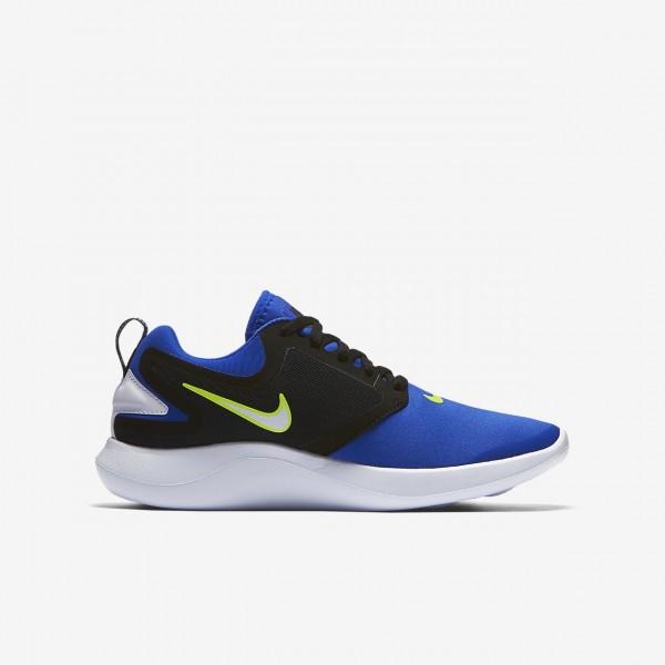 Nike Lunarsolo Laufschuhe Jungen Blau Schwarz Hellgelb Gold Weiß 648-83649