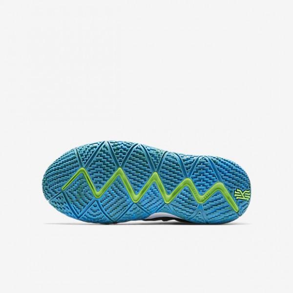 Nike Kyrie 4 Basketballschuhe Jungen Dunkelobsidian Schwarz 104-64760