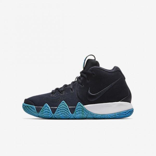 Nike Kyrie 4 Basketballschuhe Jungen Dunkelobsidia...