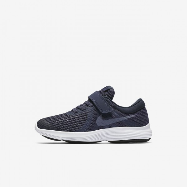 Nike Revolution 4 Laufschuhe Jungen Blau Obsidian ...