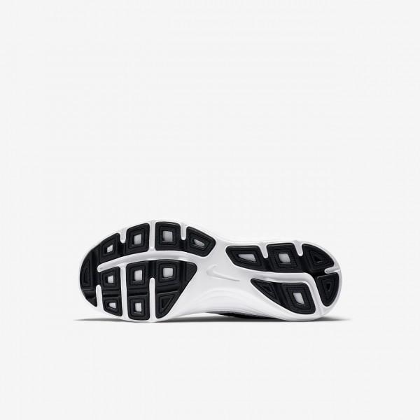 Nike Revolution 3 Laufschuhe Jungen Dunkelgrau Schwarz Platin Weiß 174-76042