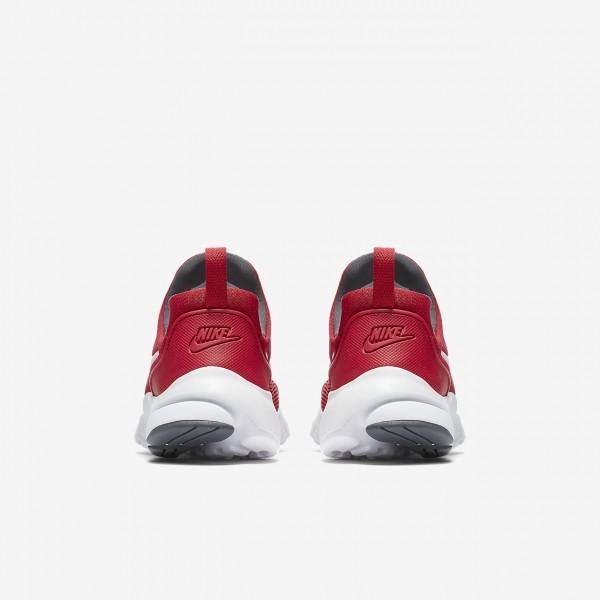 Nike Presto Fly Freizeitschuhe Jungen Rot Dunkelgrau Weiß 227-86581