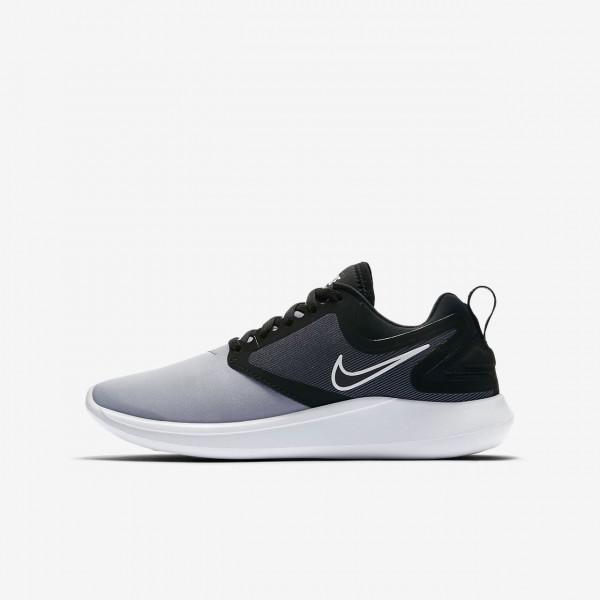 Nike Lunarsolo Laufschuhe Jungen Schwarz Rot Weiß...