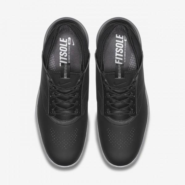 Nike Air Zoom Direct Golfschuhe Herren Schwarz Metallic Silber 561-41628