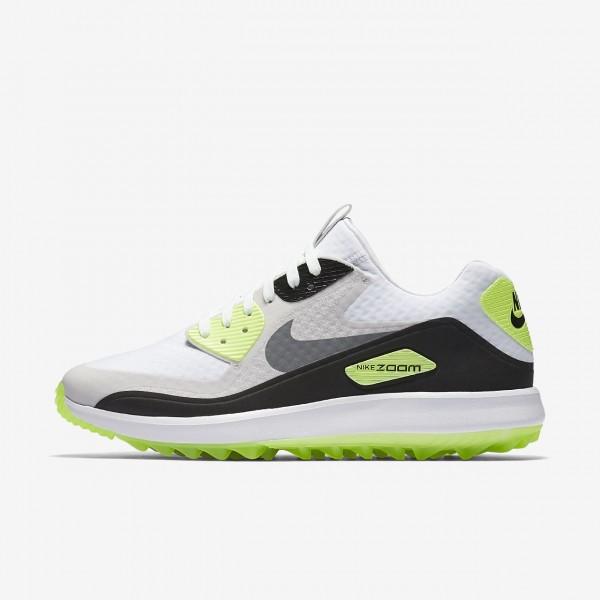 Nike Air Zoom 90 It Golfschuhe Herren Weiß Grau S...