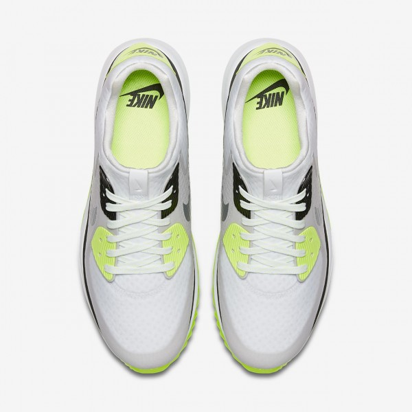 Nike Air Zoom 90 It Golfschuhe Herren Weiß Grau Schwarz 218-85981
