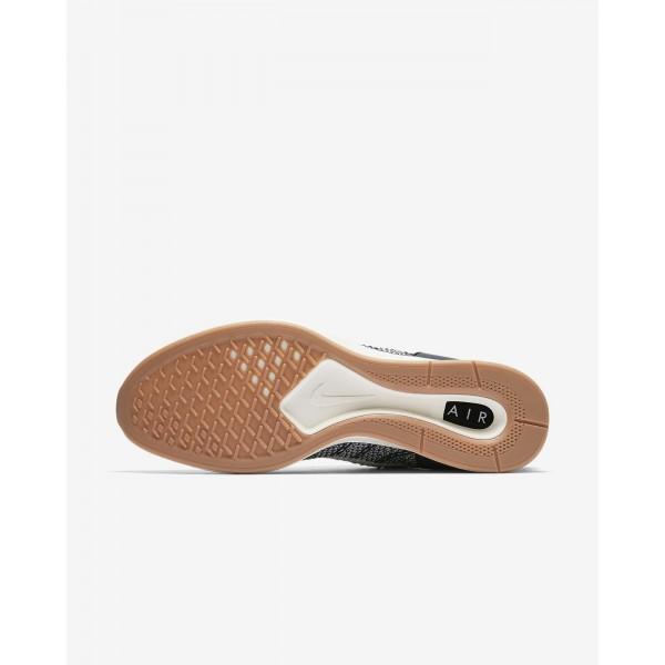 Nike Air Zoom Mariah Flyknit Racer Freizeitschuhe Herren Navy Braun Metallic Silber Weiß 524-74196