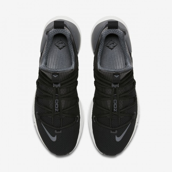Nike Air Zoom Grade Freizeitschuhe Herren Schwarz Weiß Dunkelgrau 445-94812