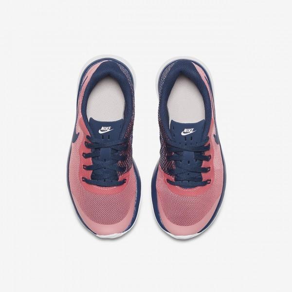 Nike Tanjun Racer Freizeitschuhe Mädchen Rosa Weiß Navy 240-25108