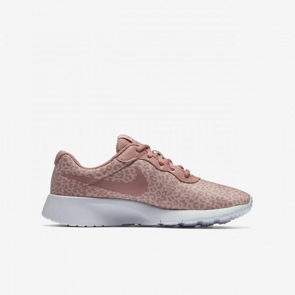Nike Tanjun Print Freizeitschuhe Mädchen Rosa Weiß Pink 364-47572