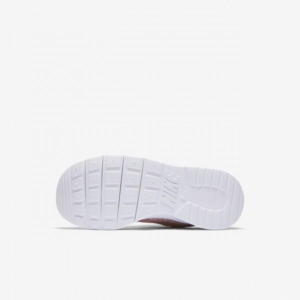 Nike Tanjun Print Freizeitschuhe Mädchen Rosa Weiß Pink 201-32522