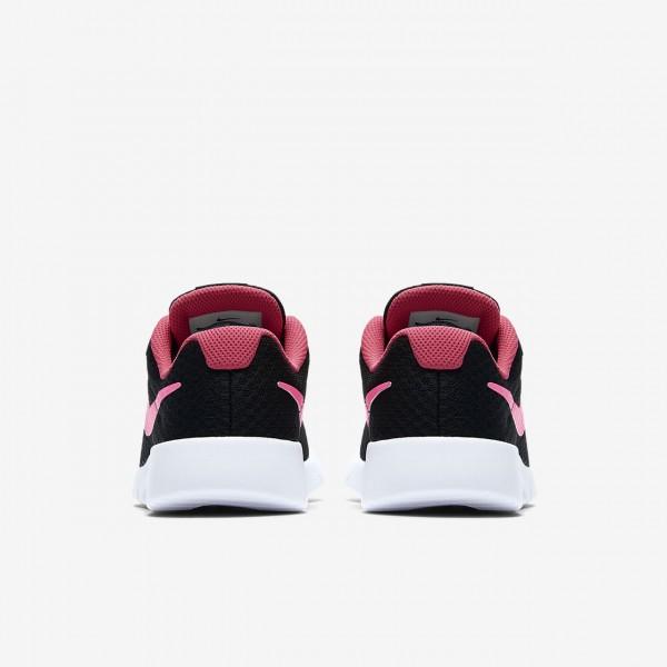 Nike Tanjun Freizeitschuhe Mädchen Schwarz Weiß Pink 798-69489