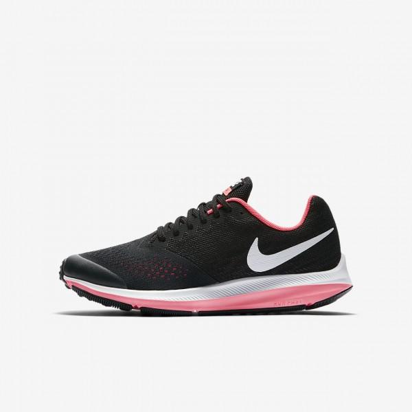 Nike Zoom Wio 4 Laufschuhe Mädchen Schwarz Pink W...