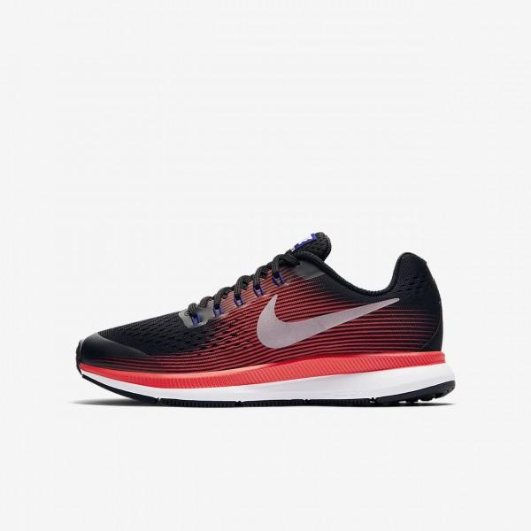 Nike Zoom Pegasus 34 Laufschuhe Mädchen Schwarz R...