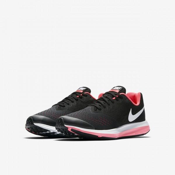 Nike Zoom Wio 4 Laufschuhe Mädchen Schwarz Pink Weiß 238-25813