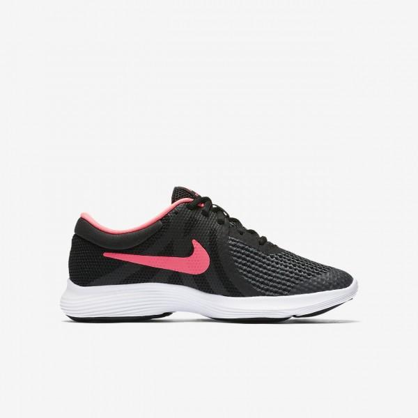 Nike Revolution 4 Laufschuhe Mädchen Schwarz Weiß Pink 131-83618