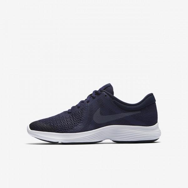 Nike Revolution 4 Laufschuhe Mädchen Blau Obsidia...