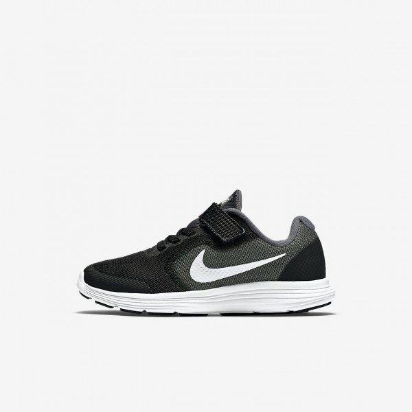 Nike Revolution 3 Laufschuhe Mädchen Dunkelgrau S...