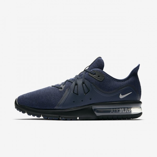Nike Air Max Sequent 3 Laufschuhe Herren Navy Schw...