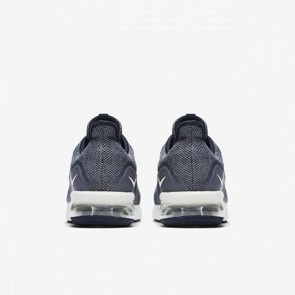 Nike Air Max Sequent 3 Laufschuhe Herren Obsidian Dunkelblau Weiß 783-89582