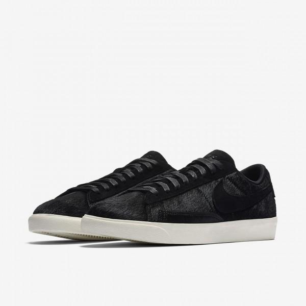 Nike Blazer low Lx Freizeitschuhe Damen Schwarz Weiß 515-80105