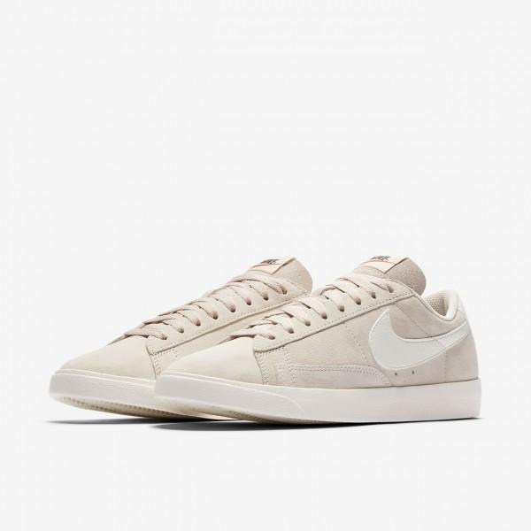 Nike Blazer low Freizeitschuhe Damen Sand Weiß 805-22531