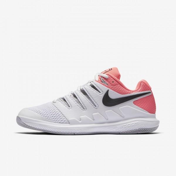 Nike Air Zoom Vapor X Tennisschuhe Damen Grau Rosa...