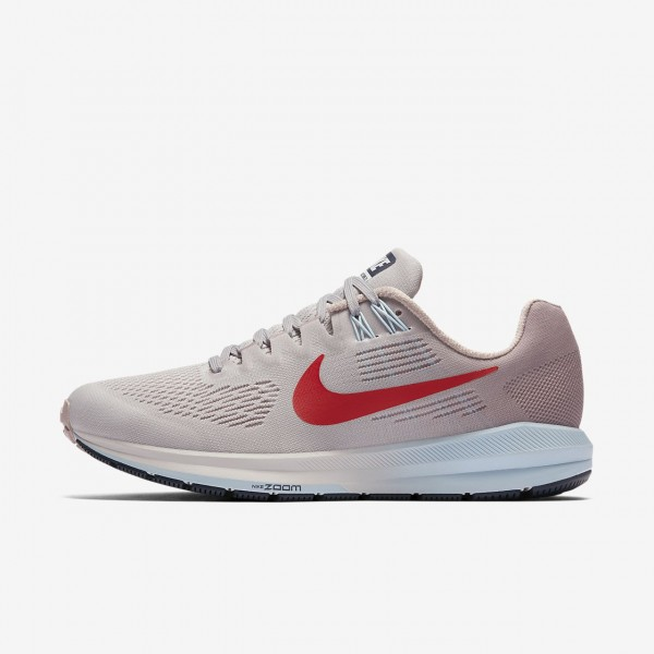 Nike Air Zoom Structure 21 Laufschuhe Damen Grau R...
