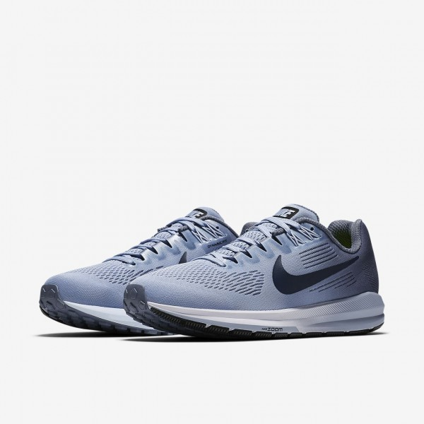 Nike Air Zoom Structure 21 Laufschuhe Damen Blau Navy 166-79636